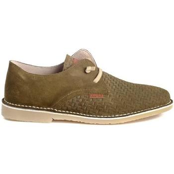 Schoenen Heren Derby Colour Feet KHALIF Groen