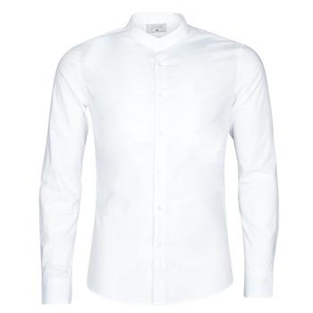 Textiel Heren Overhemden lange mouwen Casual Attitude  Wit