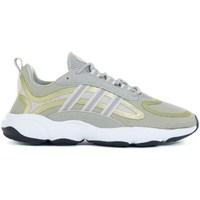 Schoenen Kinderen Running / trail adidas Originals Haiwee J Vert, Jaune
