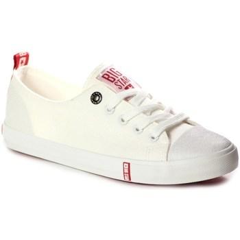 Schoenen Dames Lage sneakers Big Star FF274087 Creme
