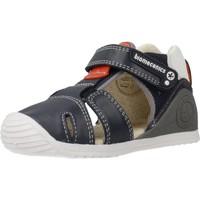 Schoenen Jongens Sandalen / Open schoenen Biomecanics 202138 Blauw