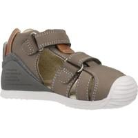 Schoenen Jongens Sandalen / Open schoenen Biomecanics 202144 Bruin