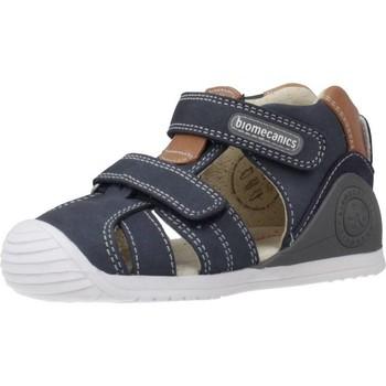 Schoenen Meisjes Sandalen / Open schoenen Biomecanics 202144 Blauw