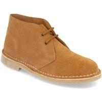 Schoenen Dames Laarzen Shoes&blues DB01 Camel