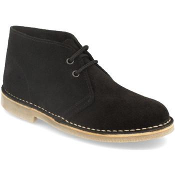 Schoenen Dames Laarzen Shoes&blues DB01 Negro