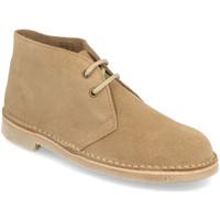 Schoenen Dames Laarzen Shoes&blues DB01 Taupe