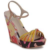 Schoenen Dames Sandalen / Open schoenen Bourne KARMEL Beige / Multicolour