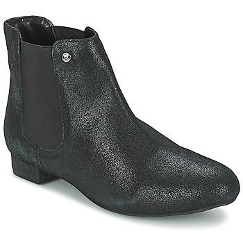 Schoenen Dames Laarzen Elle MABILLON Zwart / Brillant