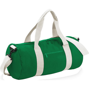 Tassen Reistassen Bagbase BG140 Kelly Green/Off White