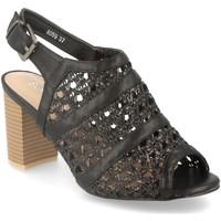 Schoenen Dames Sandalen / Open schoenen Encor A059 Negro