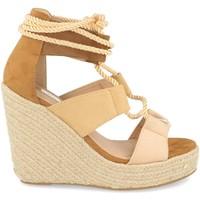 Schoenen Dames Sandalen / Open schoenen Buonarotti 1DB-0190 Camel