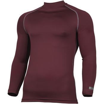 Textiel Heren T-shirts met lange mouwen Rhino RH001 Marron