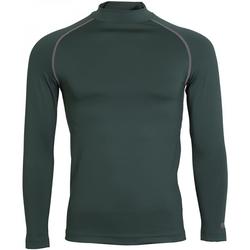 Textiel Heren T-shirts met lange mouwen Rhino RH001 Fles groen