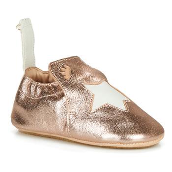 Schoenen Kinderen Sloffen Easy Peasy BLUBLU ETOILE Roze / Gold