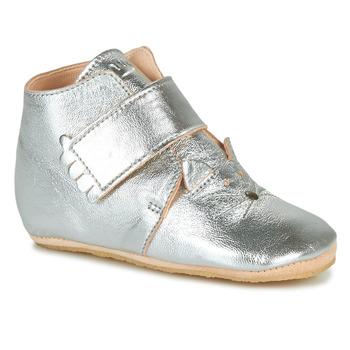 Schoenen Kinderen Sloffen Easy Peasy KINY CHAT Zilver