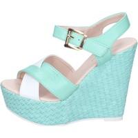 Schoenen Dames Sandalen / Open schoenen Solo Soprani BN643 Vert