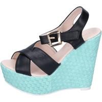 Schoenen Dames Sandalen / Open schoenen Solo Soprani Sandales BN644 Noir