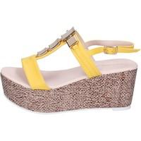 Schoenen Dames Sandalen / Open schoenen Solo Soprani Sandales BN647 Jaune