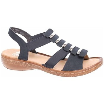Schoenen Dames Sandalen / Open schoenen Rieker 6285014 Noir, Marron