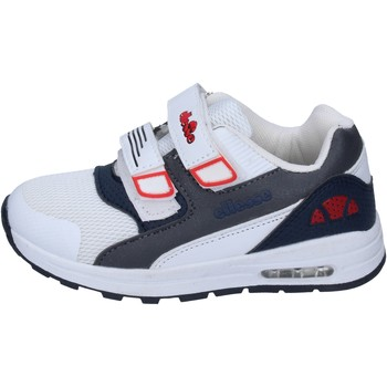 Schoenen Jongens Lage sneakers Ellesse sneakers tessuto pelle sintetica Bianco