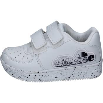 Schoenen Jongens Lage sneakers Ellesse sneakers pelle sintetica Bianco