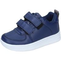 Schoenen Jongens Lage sneakers Ellesse sneakers pelle sintetica Blu