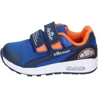 Schoenen Jongens Lage sneakers Ellesse sneakers tessuto Blu