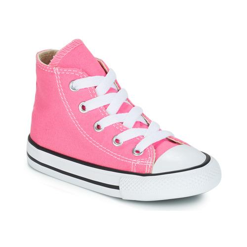 Schoenen Meisjes Hoge sneakers Converse CHUCK TAYLOR ALL STAR CORE HI Roze