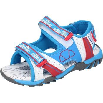 Schoenen Jongens Sandalen / Open schoenen Ellesse sandali tessuto pelle sintetica Blu