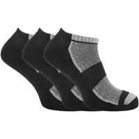 Accessoires Heren Sokken Universal Textiles  Zwart/Grijze Marl
