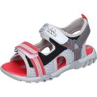 Schoenen Jongens Sandalen / Open schoenen Ellesse sandali pelle sintetica tessuto Grigio