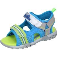 Schoenen Jongens Sandalen / Open schoenen Ellesse sandali pelle sintetica tessuto Blu