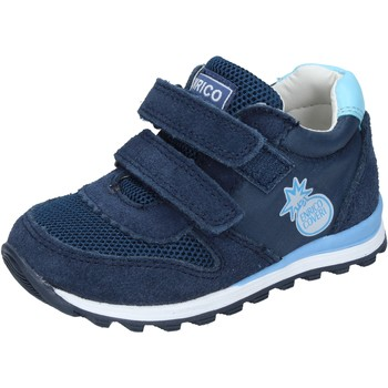 Schoenen Jongens Lage sneakers Enrico Coveri Baskets BN683 Bleu