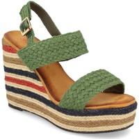 Schoenen Dames Sandalen / Open schoenen Milaya 5R8 Verde