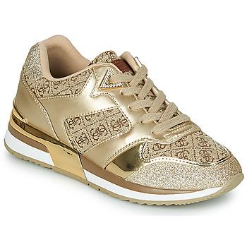 Schoenen Dames Lage sneakers Guess MOTIV Goud