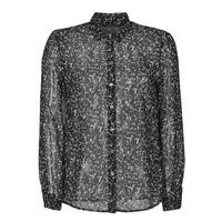 Textiel Dames Overhemden Ikks BR12025 Zwart