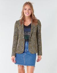 Textiel Dames Jasjes / Blazers Ikks BR40005 Kaki