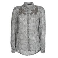 Textiel Dames Overhemden Ikks BR12055 Zwart