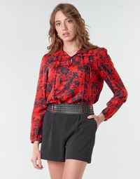 Textiel Dames Tops / Blousjes Ikks BR13085 Rood