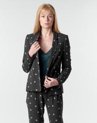 Textiel Dames Jasjes / Blazers Ikks BR40115 Zwart