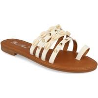 Schoenen Dames Sandalen / Open schoenen Milaya 2R33 Blanco
