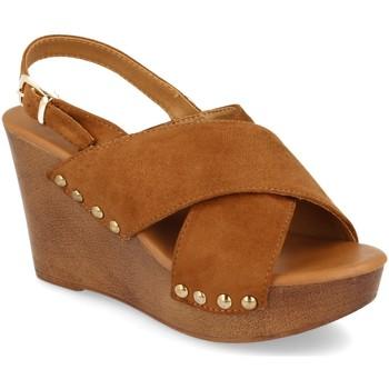 Schoenen Dames Sandalen / Open schoenen Prisska Y5627 Camel