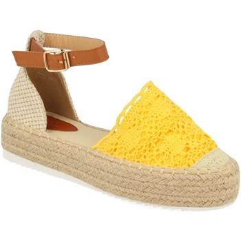 Schoenen Dames Espadrilles H&d YT30 Amarillo