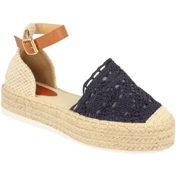Schoenen Dames Espadrilles H&d YT30 Azul