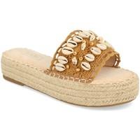 Schoenen Dames Sandalen / Open schoenen H&d YZ19-171 Camel