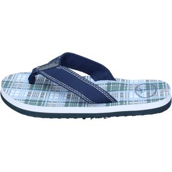Schoenen Jongens Sandalen / Open schoenen Brooksfield sandali tela Blu