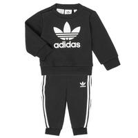 Textiel Kinderen Setjes adidas Originals CREW SET Zwart