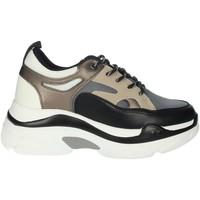 Schoenen Dames Hoge sneakers Rocco Barocco RBSC4EX01 Black/Beige
