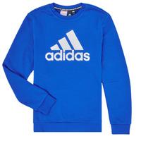 Textiel Jongens Sweaters / Sweatshirts adidas Performance JB MH CREW Blauw