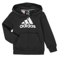 Textiel Jongens Sweaters / Sweatshirts adidas Performance B MH BOS FZ FL Zwart